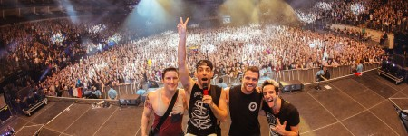 All Time Low UK Arena Tour Photos