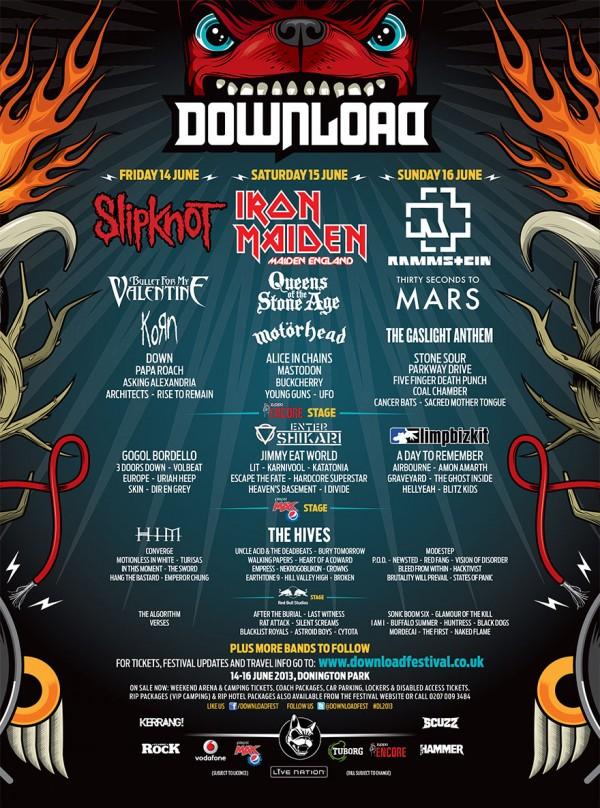 Download Festival Derby, UK