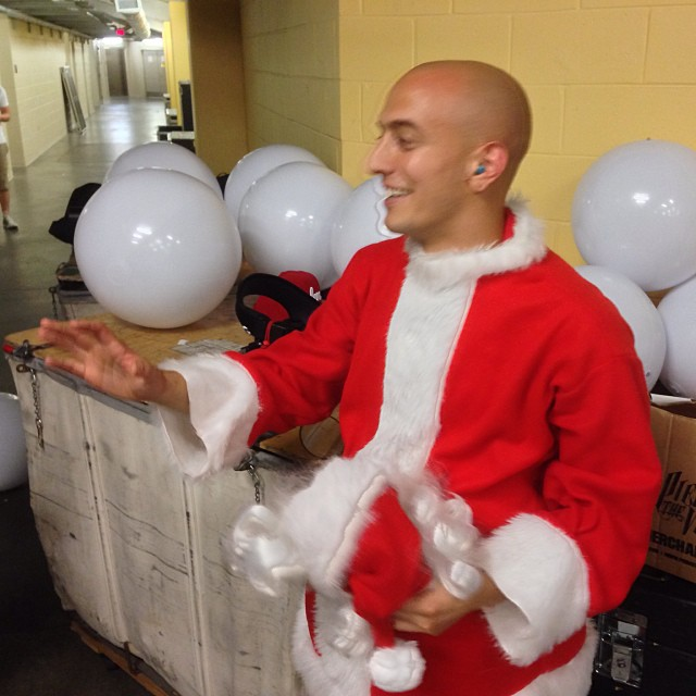Adam Elmakias as Santa Claus