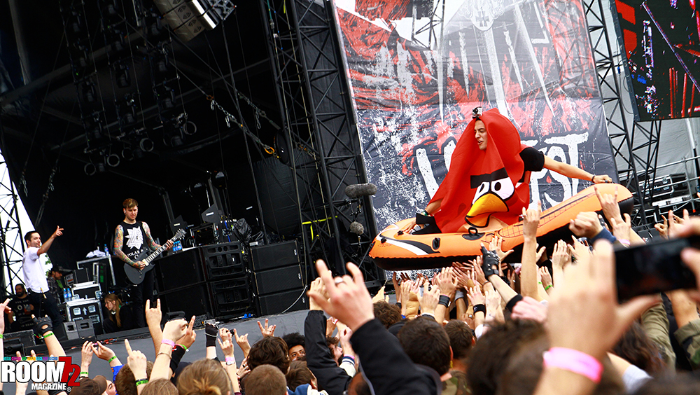 Adam Elmakias Angry Bird at Hellfest in Clisson, France