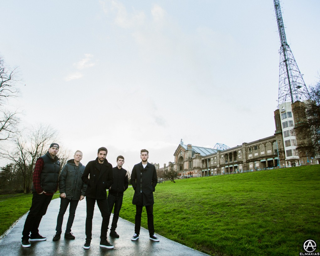 A Day To Remember out in front of Ally Pally