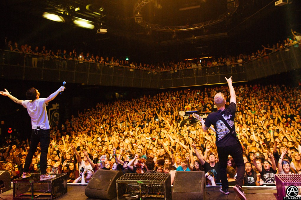 A Day To Remember live in Tilburg, Netherlands