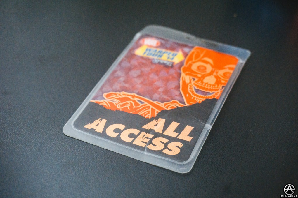 Warped Tour 2014 All Access Pass