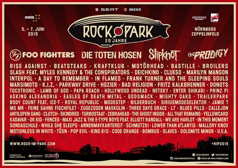 Rock IM Park in Nuremberg, Bavaria - European Festivals