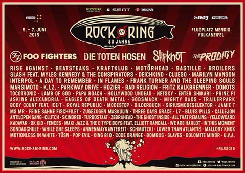 Rock AM Ring in Mendig, Germany - European Festivals