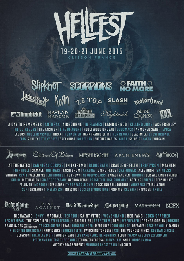 Hellfest in Clisson, France - European Festivals