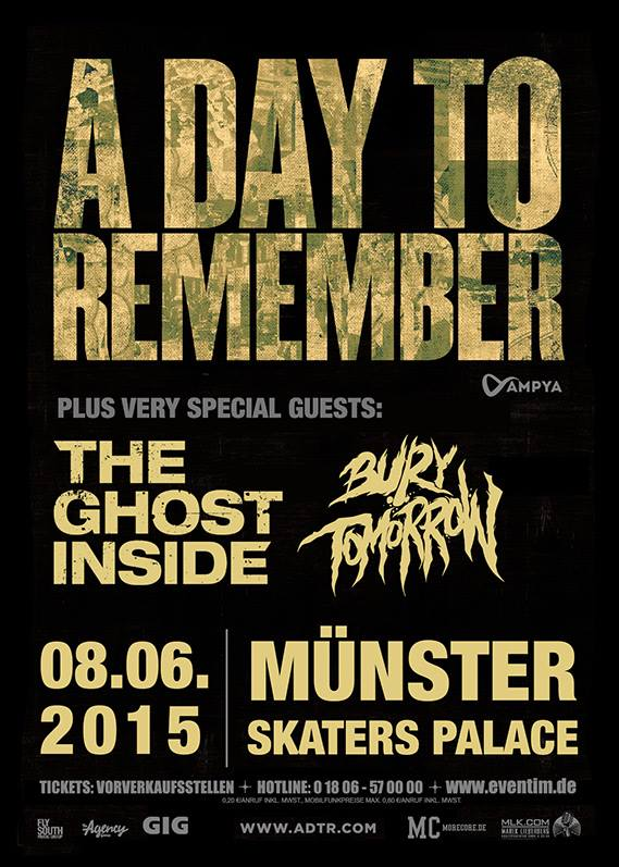 A Day to Remember in Munster, Germany - European Festivals