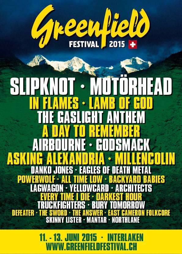 Greenfield Festival in Interlaken, Switzerland - European Festivals