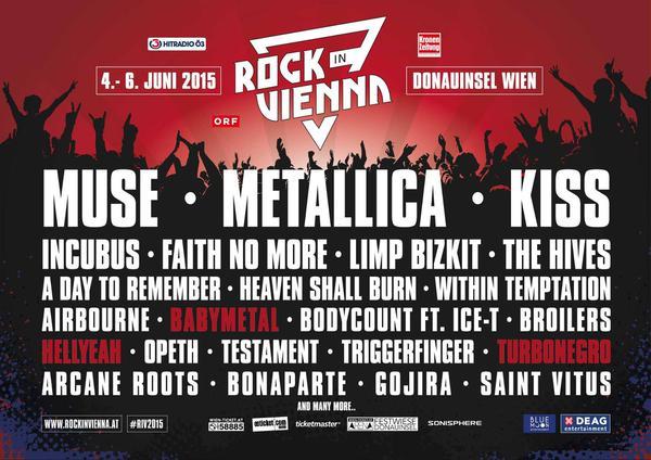 Rock In Vienna - European Festivals