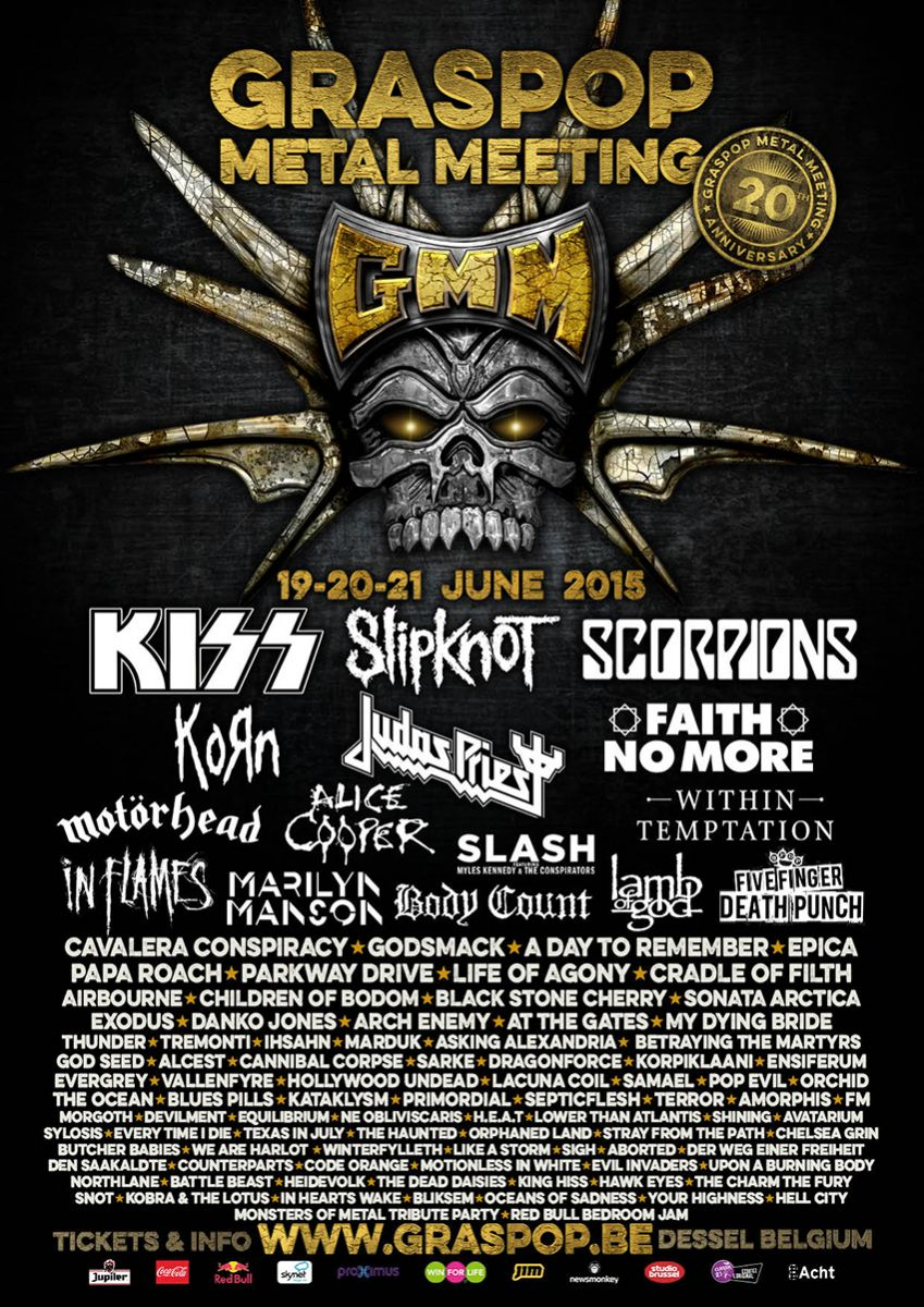 Graspop Metal Meeting in Dessel, Belgium - European Festivals